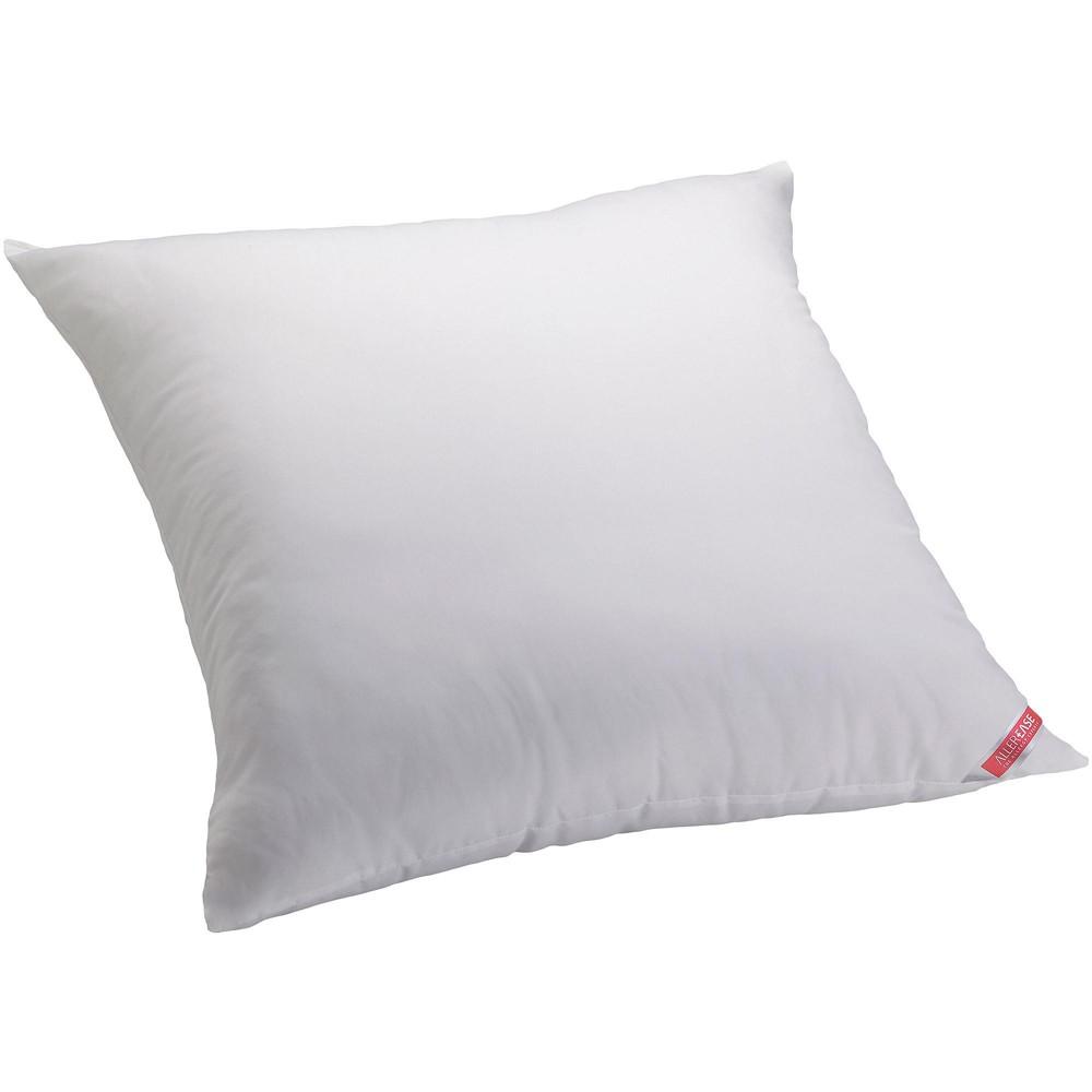Image of AllerEase Cotton Allergy Protection Euro Pillow, White