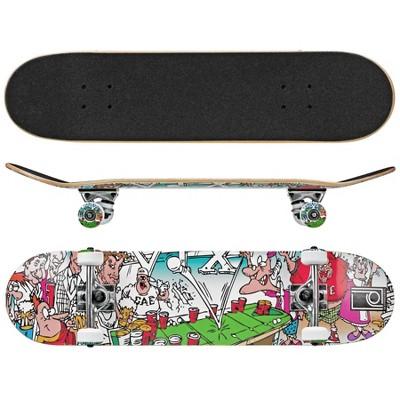 Roller Derby Street Series Frat House Skateboard