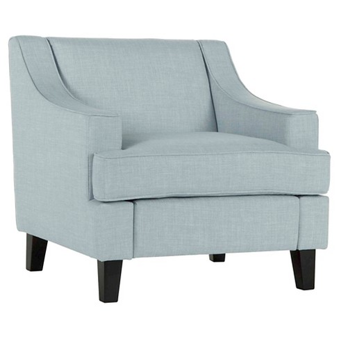 Upholstered Chair - Glazed Blue - Inspire Q - image 1 of 8