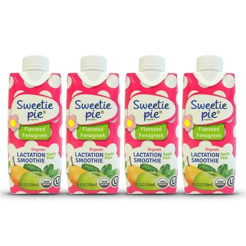 Sweetie Pie Organics Lactation Smoothie - 4pk - image 1 of 4