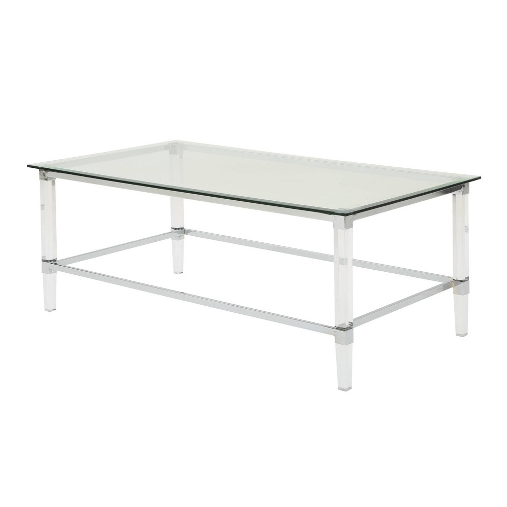 Bayla Modern Coffee Table Clear - Christopher Knight Home