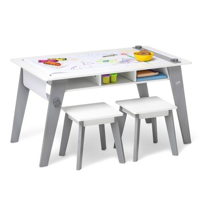 Arts and Crafts Table White/Gray - WildKin