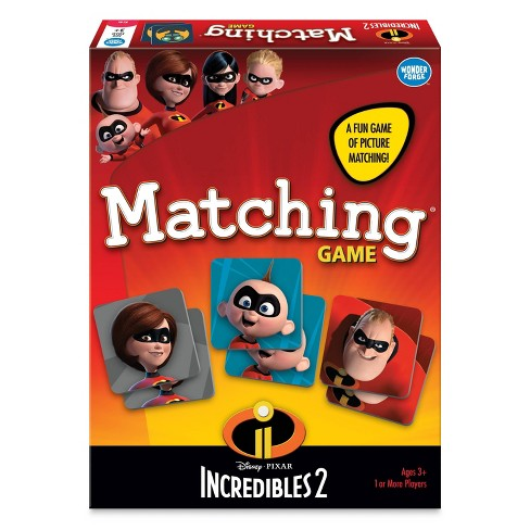 Disney Pixar Incredibles 2 Matching Game - image 1 of 4