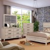 Hayes 6 Drawer Dresser Light Brown/White - ioHOMES - image 2 of 3