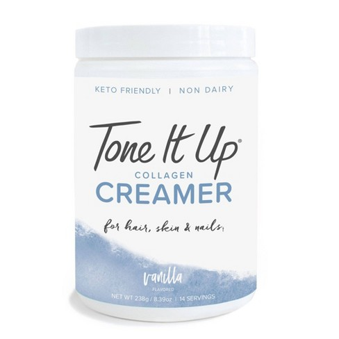 Tone It Up Collagen Creamer Peptides - Vanilla - 11.85oz - image 1 of 3