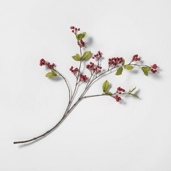 Faux Red Berry Stem - Hearth & Hand™ with Magnolia