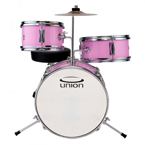 Union Ut3 3pc Toy Drum Set With Cymbal And Throne Target