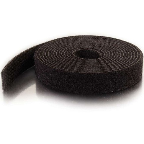 C2G 10ft Hook-and-Loop Cable Wrap - Black - TAA Compliant - image 1 of 4