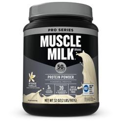 Muscle Milk Pro Series 50 Protein Powder - Vanilla - 2 lb