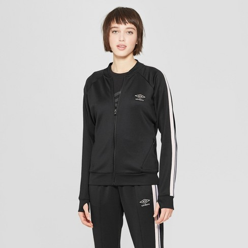 Umbro Women's Full Zip Windbreaker Baseball Jacket - image 1 of 2