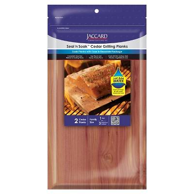 3pk Seal 'n Soak Cedar Grilling Planks - Jaccard