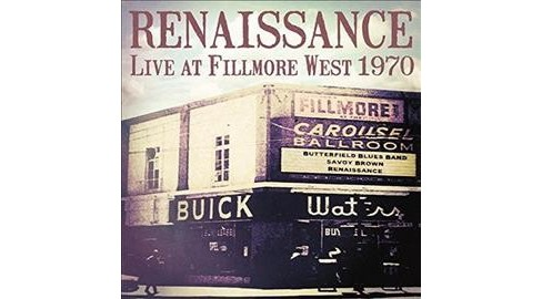 Renaissance - Live At Fillmore West 1970 (Vinyl) - image 1 of 1
