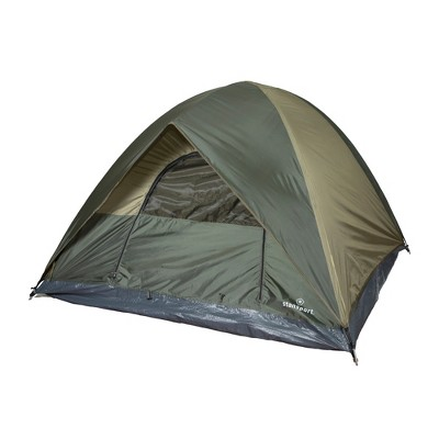 Stansport Trophy Hunter 3 Person Dome Tent Olive/Tan