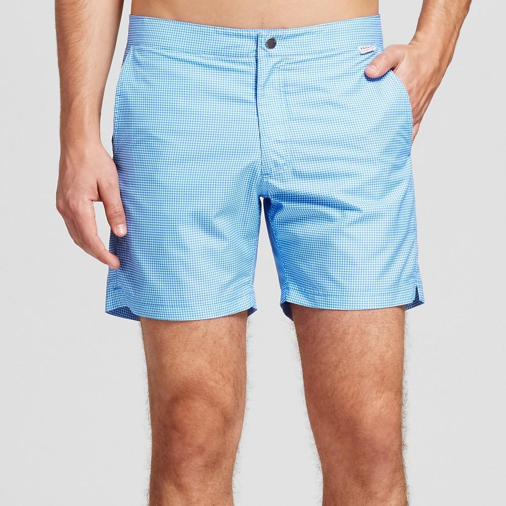 Ibiza Men's Swim Trunks 6 - Textured Blue 30