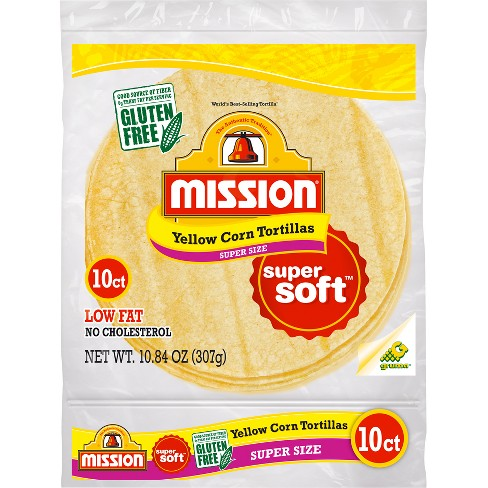 Mission® Super Size Yellow Corn Tortillas - 10ct - image 1 of 1