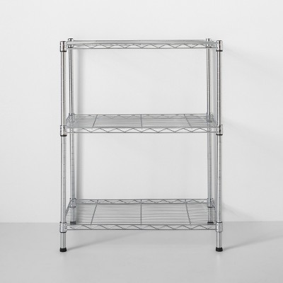 3 Tier Wire Shelf Chrome - Made By Design™
