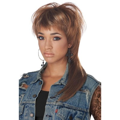 California Costumes The Femullet Adult Wig (Brown)