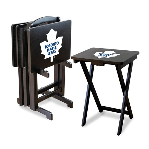 NHL Toronto Maple Leafs TV Trays with Stand - image 1 of 1