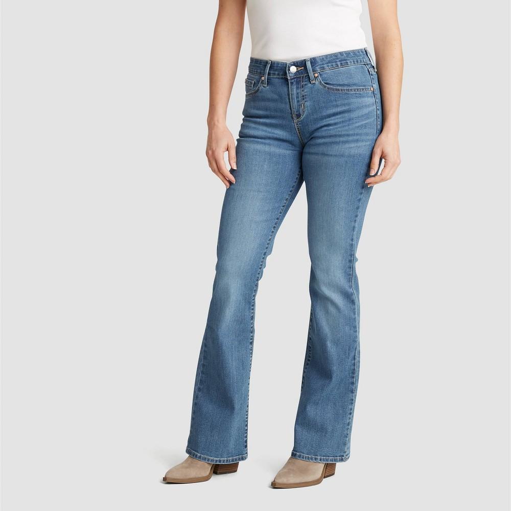 Denizen 174 From Levi 39 S 174 Women 39 S Mid Rise Bootcut Jeans Blue Mineral 12 Short