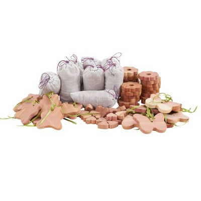 Household Essentials 72pc Lavender Cedar Value Pack For Drawers And Closets Natural