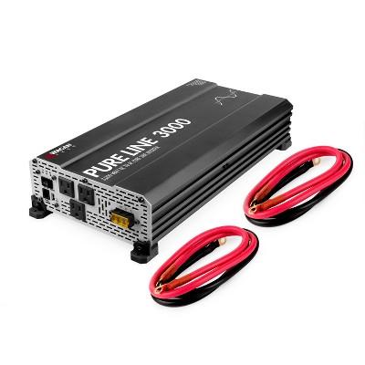 Wagan Pure Line 3000W ETL Certified Power Inverter Black