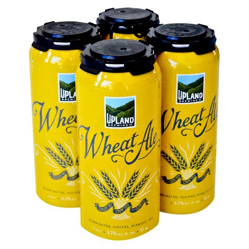 Upland Wheat Ale Beer - 4pk/16 fl oz Cans - image 1 of 1
