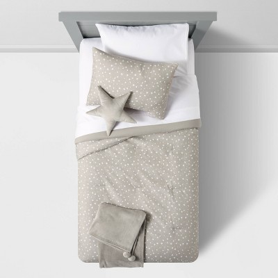 Star Value Bedding Set Gray - Pillowfort™
