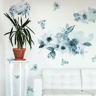 Floral Peel and Stick Giant Wall Decal - RoomMates