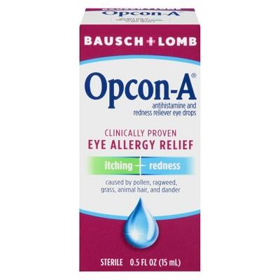 Bausch & Lomb Allergy Relief Eye Drops - 0.5oz