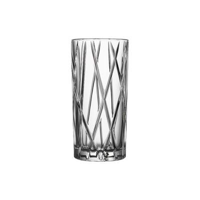 Orrefors City 11.5 Ounce Highball Glass, Set of 4