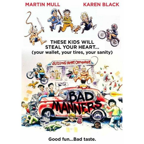 Bad Manners (DVD) - image 1 of 1