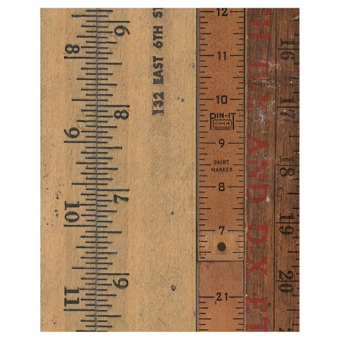 Measure This Two Unframed Wall Canvas Art - (24X30) - image 1 of 1