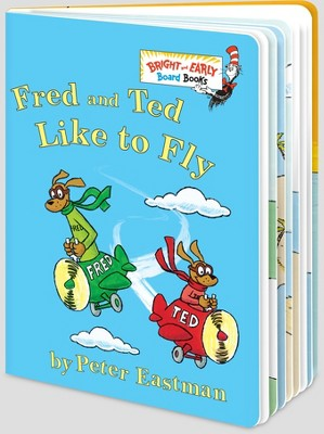 Fred and Ted Like to Fly (Hardcover)(Peter Eastman)