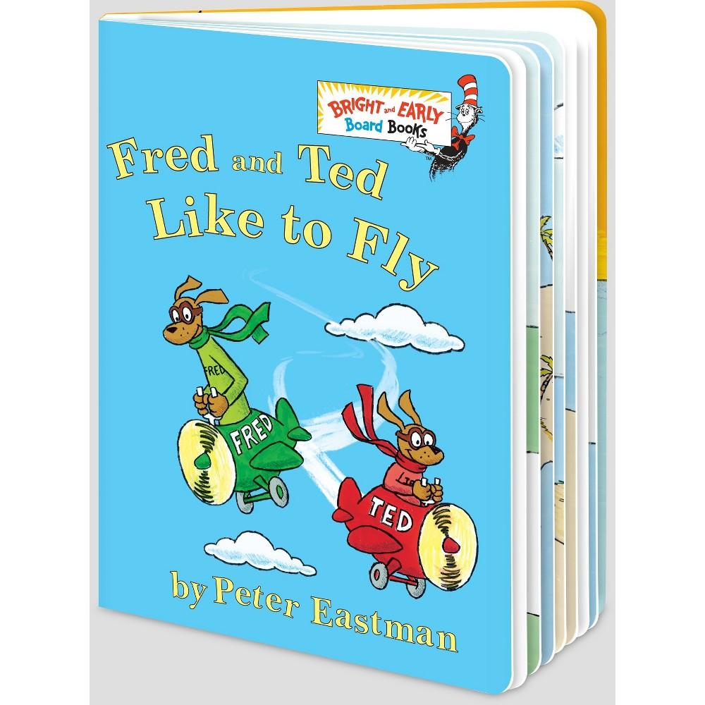 Fred and Ted Like to Fly (Hardcover) (Peter Eastman)