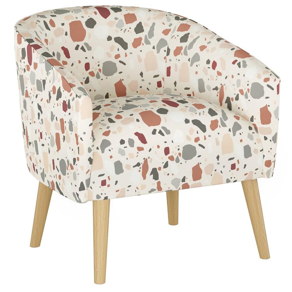 Natalee Chair Terrazzo Rust Skyline Furniture