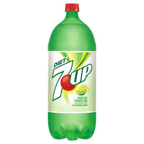 Diet 7UP - 2 L Bottle - image 1 of 2