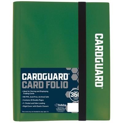 Excell 9 Pocket Pro-Folio Dark Green