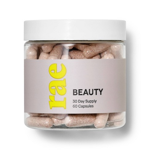 Rae Beauty Dietary Supplement Capsules - 60ct - image 1 of 4