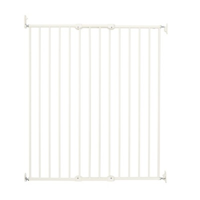 "Scandinavian Pet Design Streamline Extra Tall 42"" Animal Pet Safety Gate for Large and Small Dogs, White"