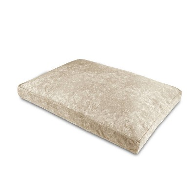 Canine Creations Pillow Ortho Rectangle Dog Bed - Tan