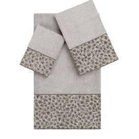 3pc Animal Print Towel Set - Linum Home Textiles