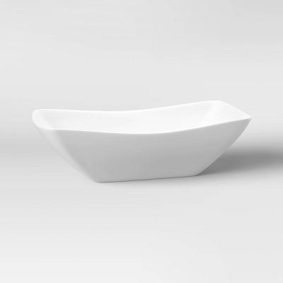 Porcelain Swerve Serving Bowl 23oz - Threshold™