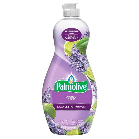 Palmolive Lavender Amp Lime Scented Ultra Liquid Dish Soap