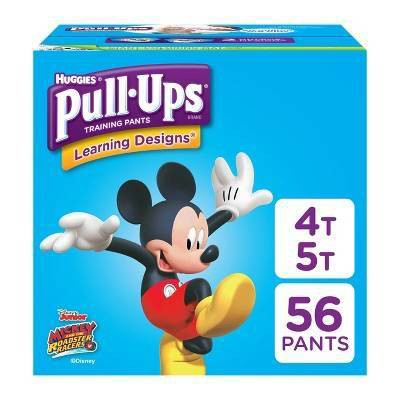 Huggies Pull-Ups Boys' Learning Designs Training Pants - Size 4T-5T (56ct)