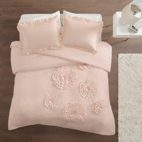 Lia Ruffle Floral Comforter Set - image 1 of 4