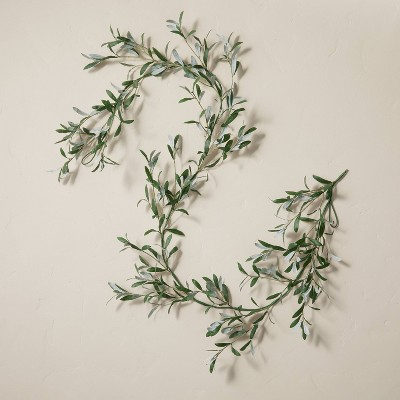 6' Faux Olive Leaf Plant Garland - Hearth & Hand™ with Magnolia