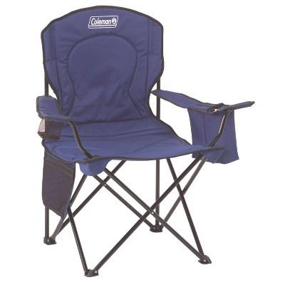 Coleman Quad Cooler Chair - Blue