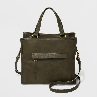 Campbell Satchel Handbag - Universal Thread™ Olive