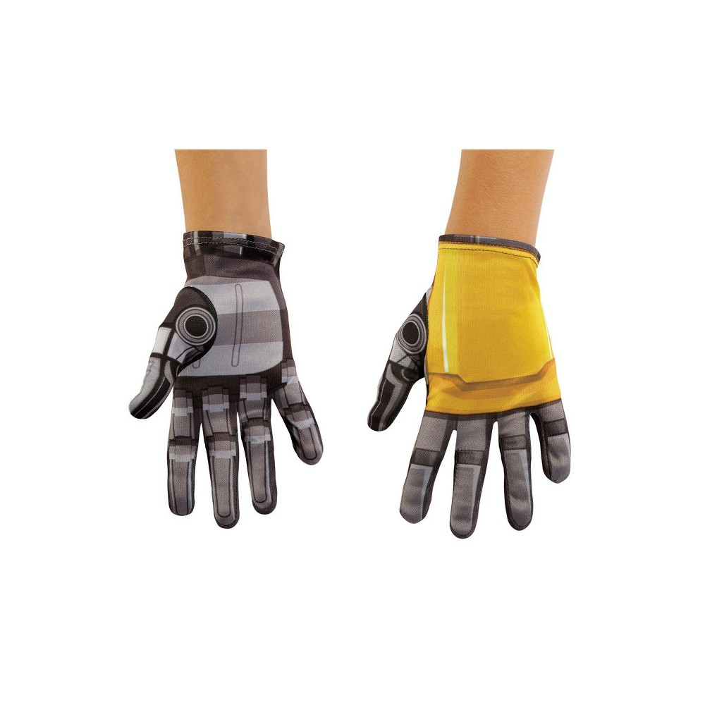 Kid's Transformers Bumblebee Costume Gloves, Boy's, Multi-Colored