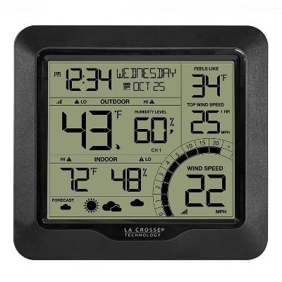 Wind Speed Weather Station Black - La Crosse Technology